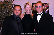 Steve Kaplan, actress Tara Hunnewell, Dean Bentley Festival Producer
