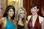BBC TV Presenter & AFA Dame de Honor Konnie Huq, actress Nahid Mannon, actress Mar del Hoya