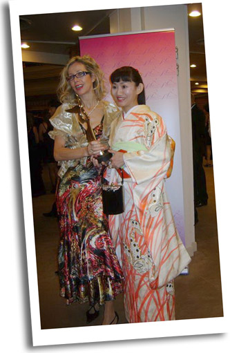 Rosana Golden AFA Artistic Director & Actress Keiko Kobayashi 'Jun-Ai' project