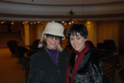 Rosana and Giorgia Farina Princess Grace Theatre Monte Carlo