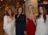 Trudy Happ and VIP Guest Miss Great Britain 2008 and Musician Emma Louise